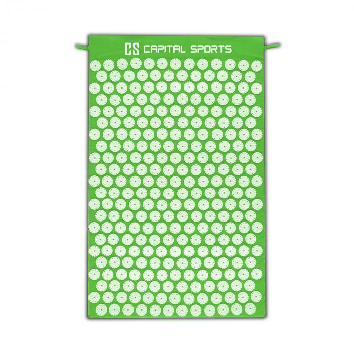 Eraser Materassino Yantra Massaggi Agopressione 80x50cm verde