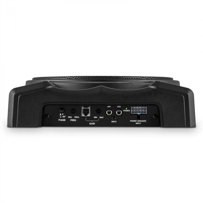 "Silverseat 10 aktiver Auto-Subwoofer 25cm (10"") 200W Untersitz"