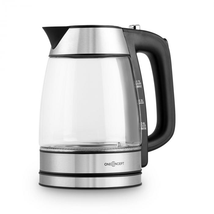 Rainbow Electric Water Kettle 1.7L 2200W Colour Changing LED