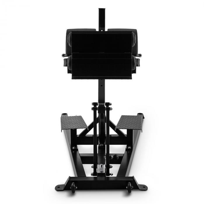 Faece Roman Chair GHD Stahl Kunstleder schwarz