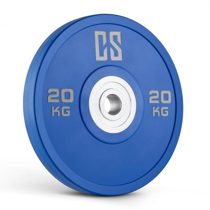 Performan Urethane Plates Gewichtsplatten Paar 20kg Blau