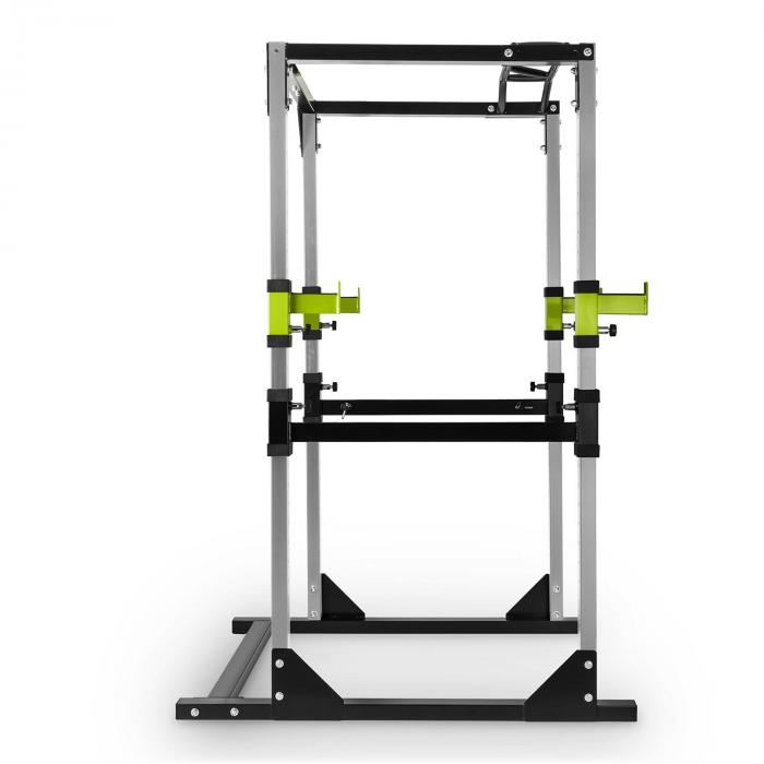 Tremendour Power Rack Palestra Casa Acciaio Verde