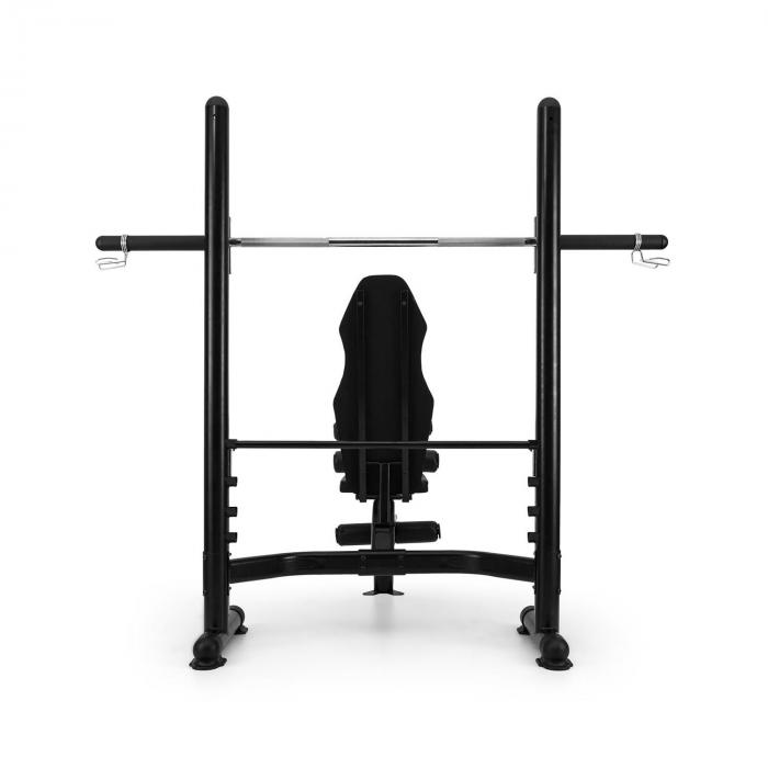 Domic Weight Bench Black Steel