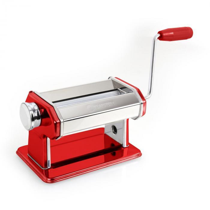 Siena Rossa Macchina per Pasta 3 Attacchi Acciaio Rosso