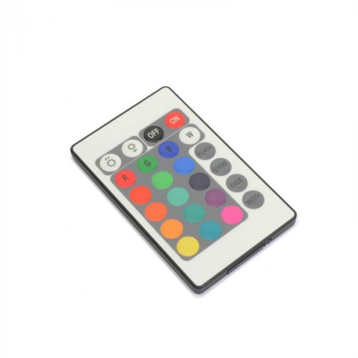 FlatPAR 18 x 1W PAR-Strahler RGB LED DMX IR inkl. Fernbedienung