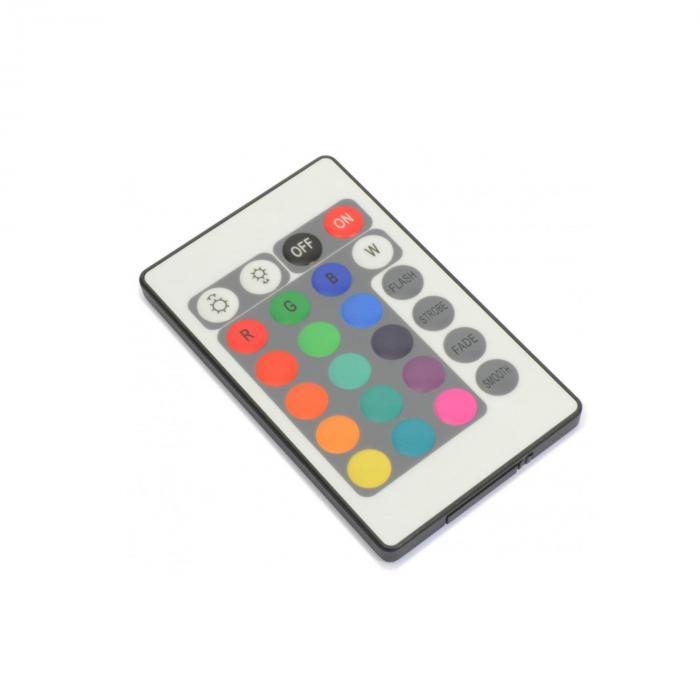 FlatPAR 36 x 1W PAR-valonheitin RGB LED DMX IR sis. kaukosäädin