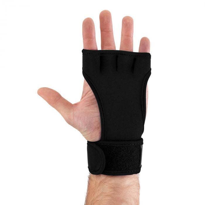 Palm Pro Guanti Sollevamento Pesi taglia S nero