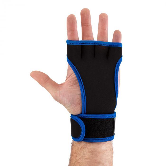 Palm Pro painonnostokäsine koko S musta/sininen