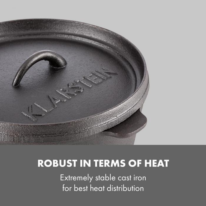 Hotrod Masterplan patasetti 7-osainen grillaamiseen valurautaa