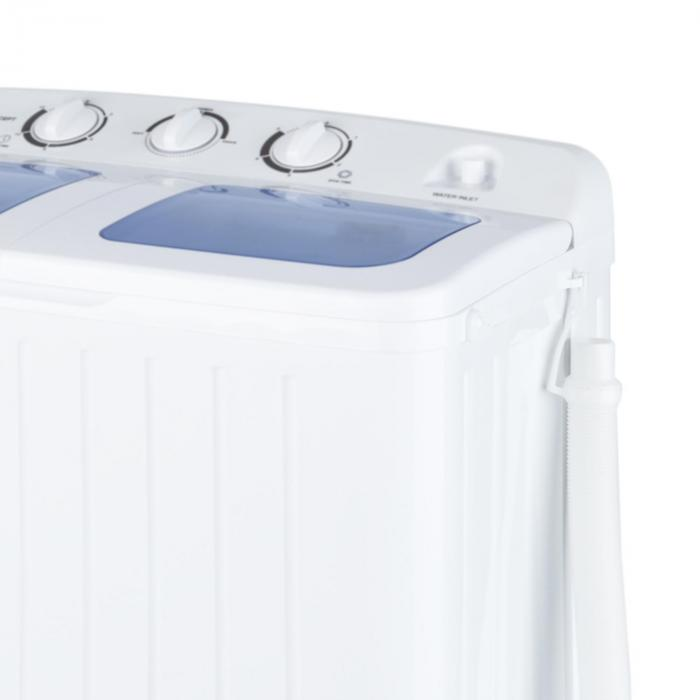 Ecowash XL tvättmaskin 4,2kg torktumlare 3kg