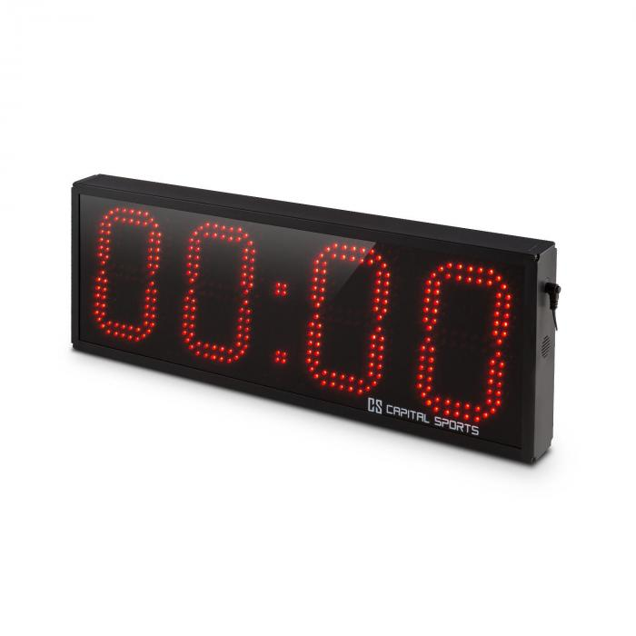 Timeter Sports Timer Tabata Stopwatch Cross-Training 4 Digits Beep
