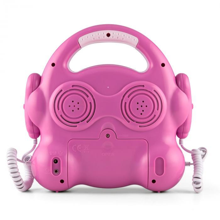 Pocket Rocker Karaoke-CD-Player Sing-A-Long 2 x Mikrofon Batteriebetrieb