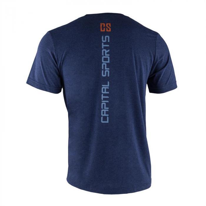 T-shirt allenamento da uomo Taglia S Navy
