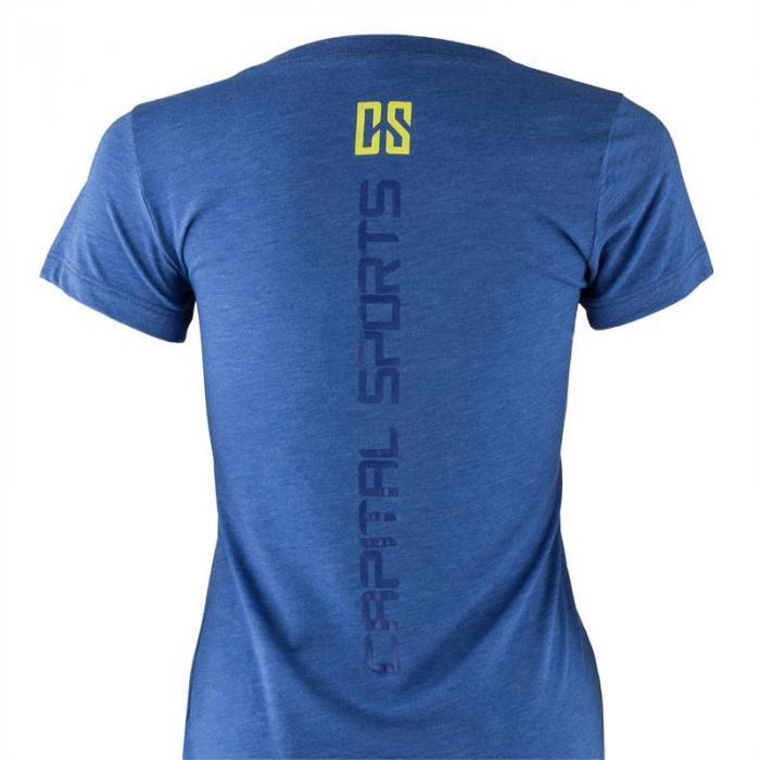 Trainings-T-Shirt für Frauen Size XL True Royal