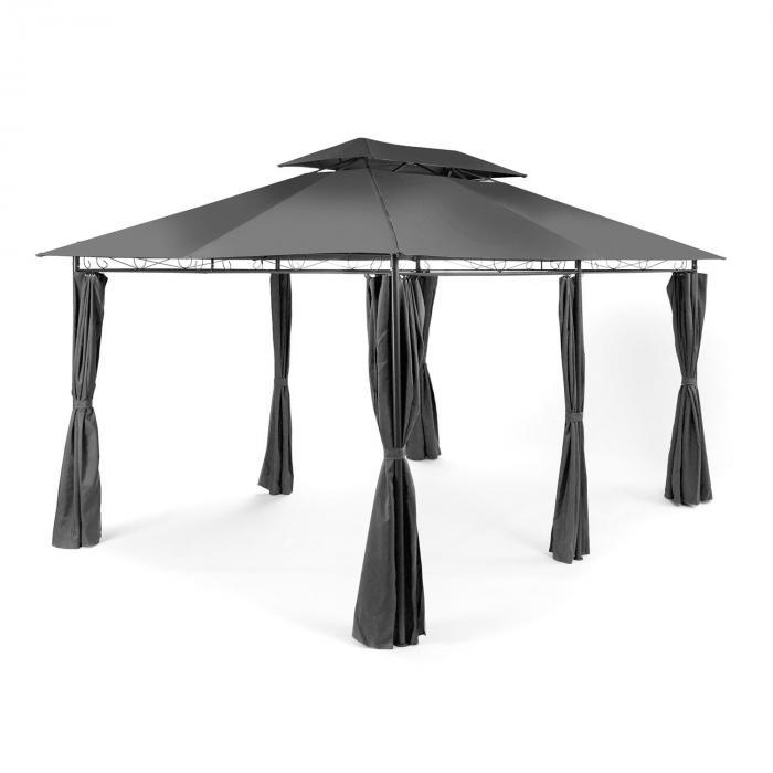 grandezza gartenpavillon partyzelt 3x4m stahl polyester. Black Bedroom Furniture Sets. Home Design Ideas