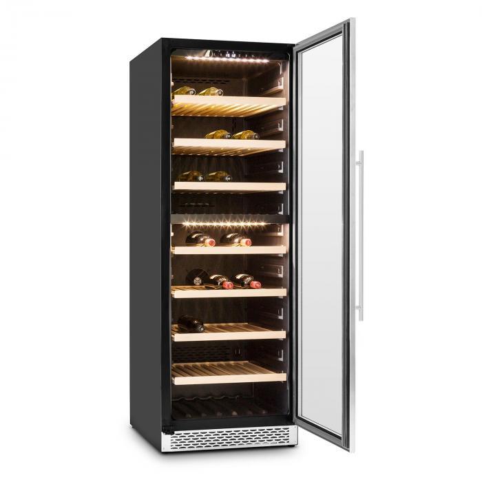 Gran Reserva viinijääkaappi 379 litraa 166 viinipulloa 2 aluetta touch