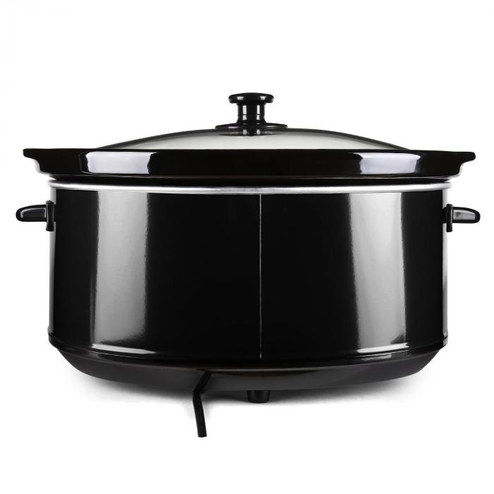 Bristol 65 Slow Cooker haudutuspata 6,5 litraa 300W musta