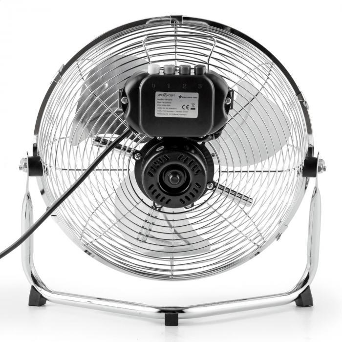 "Metal Blizzard Ventilatore Da Terra 12"" 55 W piegabile"