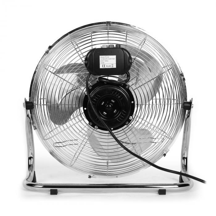 "Metal Blizzard Ventilatore Da Terra 16"" 100 W Pieghevole"