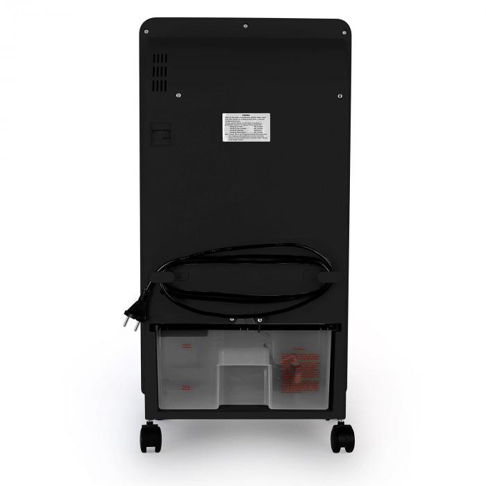 Baltic Black Luftkühler Ventilator 65 W 400 m³/h Fernbedienung
