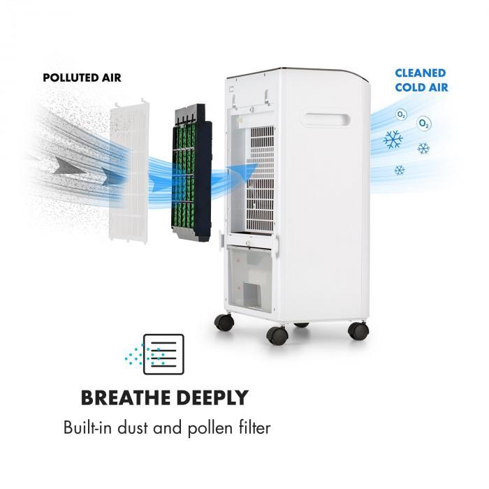 MCH-2 V2 jäähdytyslaite ilmastointilaite tuuletin 3in1 liikuteltava 65 W