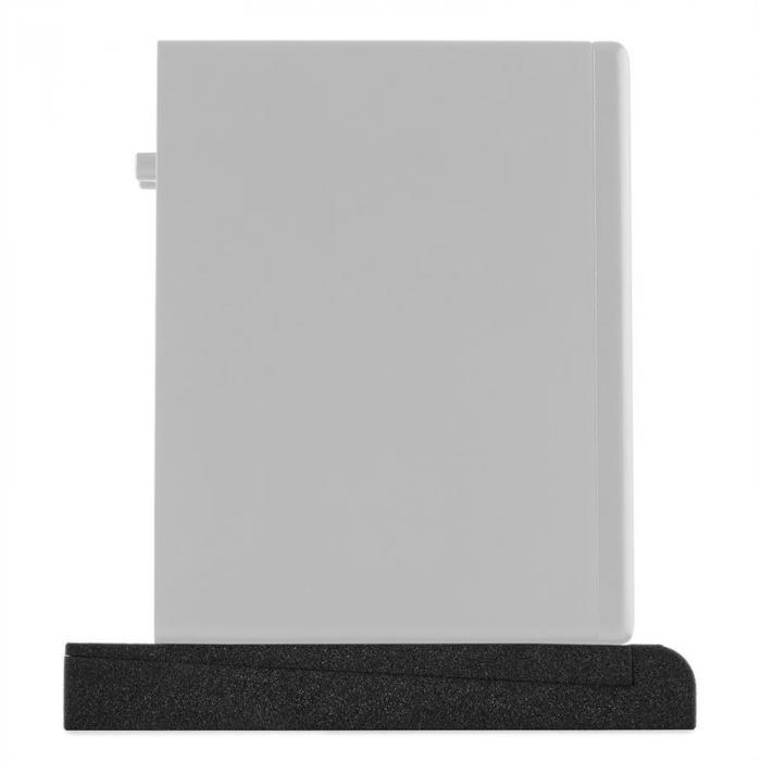"""IsoPad 5"""" Akustik Schaumstoff Paar 4/8° Neigung anthrazit"""