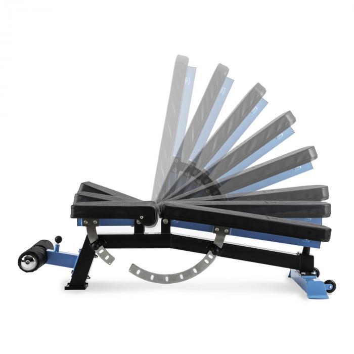 Compactar Plus halterbank situpbank metaal aanpasbaar