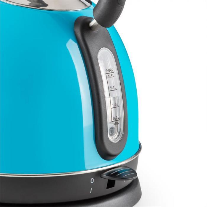 Teatime vedenkeitin teekannu 1850 - 2200 w 1,8 l teräs sininen