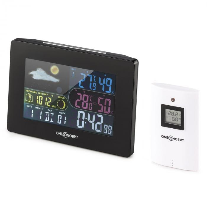 Uddevalla Wireless Weather Station Battery-operated Alarm incl. Outdoor sensor