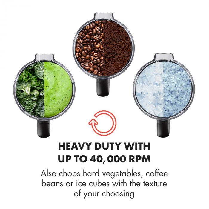 Herakles 3G Frullatore Verticale Soupmaker 2000 W 2,7 CV 2 l senza BPA