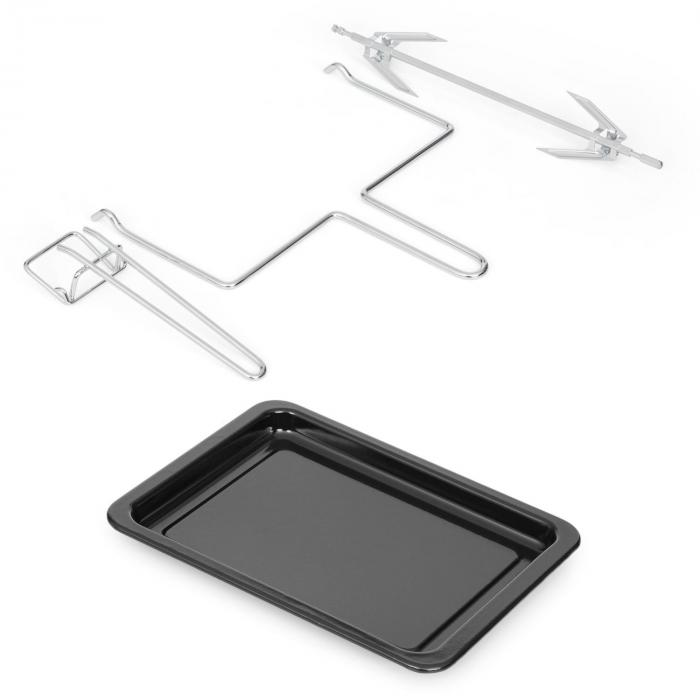 Omnichef 20 mini-oven & grill 1500 W 2G 20 L zwart