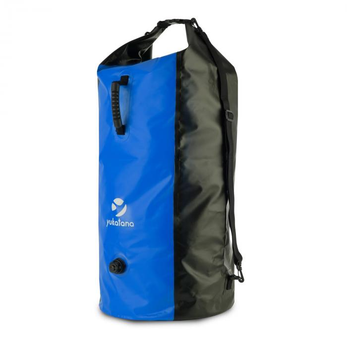 Quintono 100 Trekking mochila 100 litros impermeable negro/azul