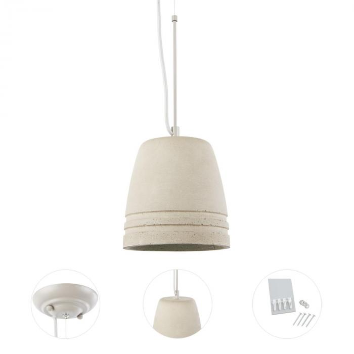 Sonnenstein Studie 21 Concrete Hanging Lamp Pendulum Lamp Industrial Design