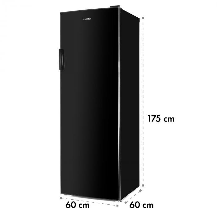 Bigboy jääkaappi 335 l 6 tasoa energiatehokkuusluokka A+ musta
