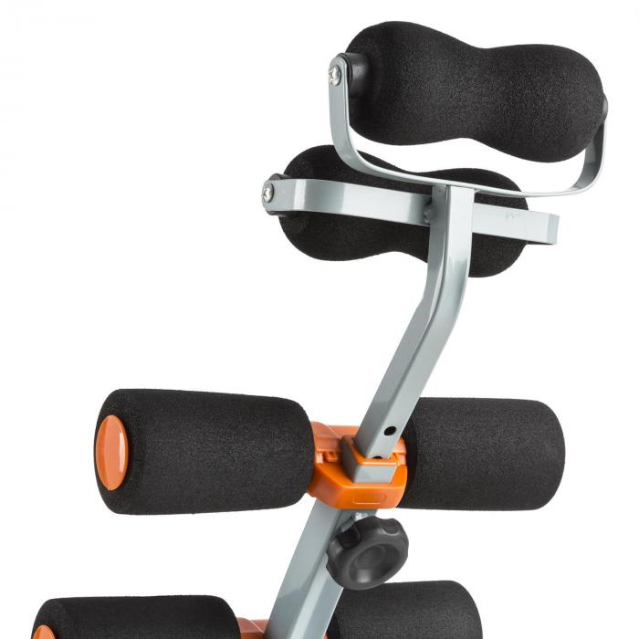 Sixish Core Bauchtrainer Body Trainer orange/schwarz