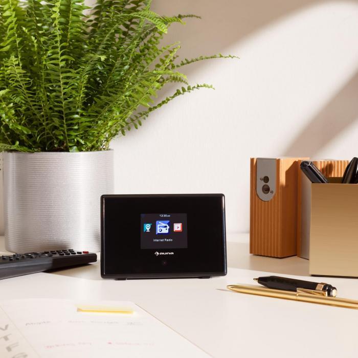 "iAdapt 240 Internetradio-Adapter WLAN 2,4""-TFT-Farbdisplay Line-Out schwarz"