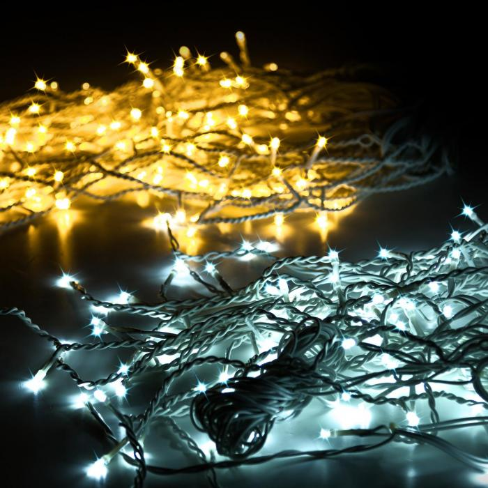 Dreamhouse Classic LED-valosarja jääpuikot 8 m 160 LED-valoa kylmävalk