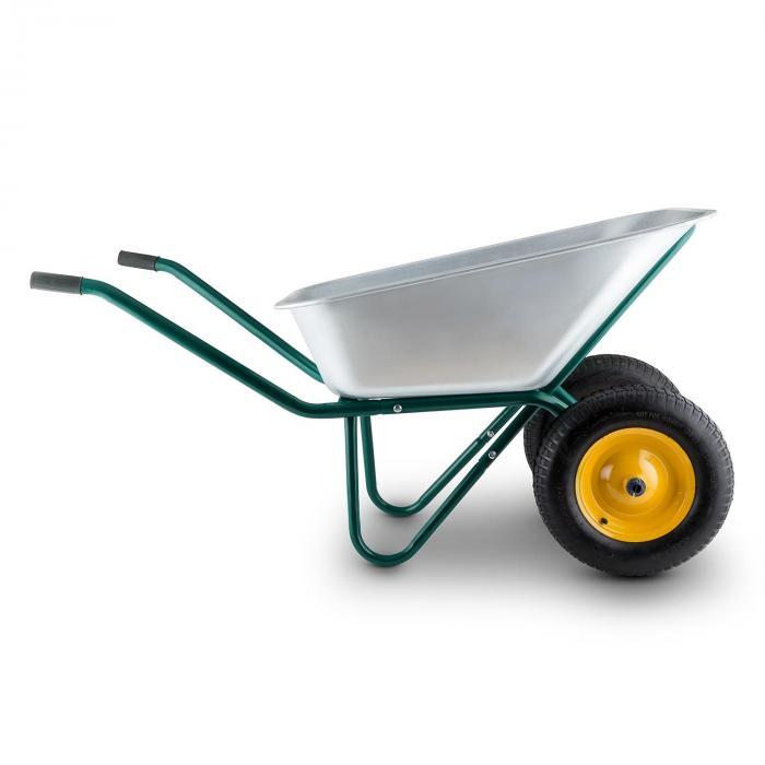 Heavyload Carriola 120l 320kg 2 Ruote Verde