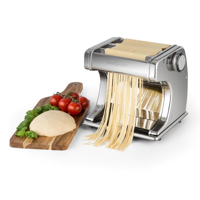 Corleone sähköinen pastakone 90W Edelstahl 6 makaronin paksuutta