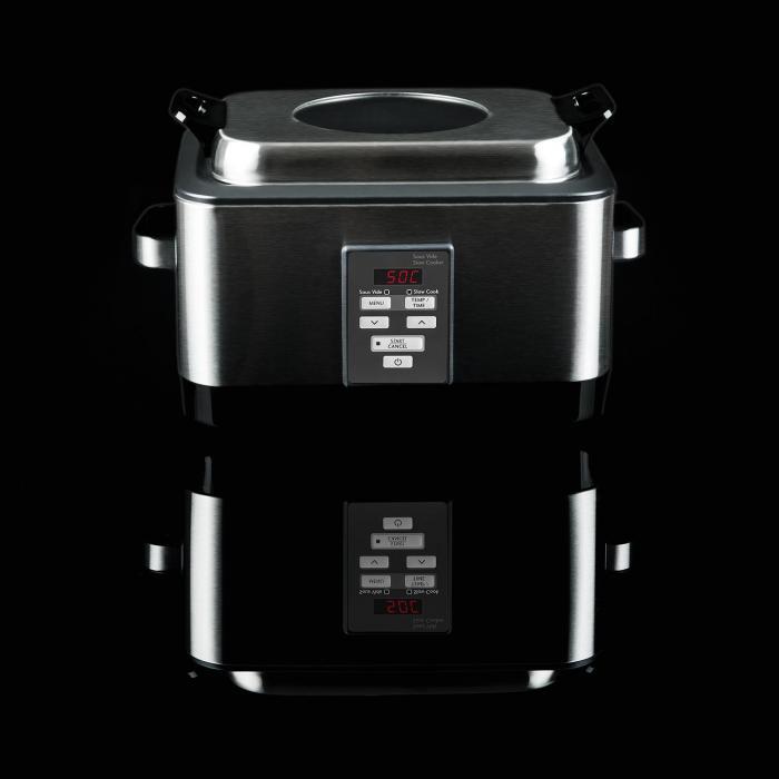 deepdive sous vide garer schongarer 8l 550 w edelstahl geb rstet online kaufen elektronik. Black Bedroom Furniture Sets. Home Design Ideas