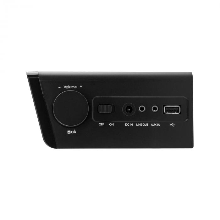 "KR-190 Internet Radio WiFi App Control 3.2"" TFT Display black"