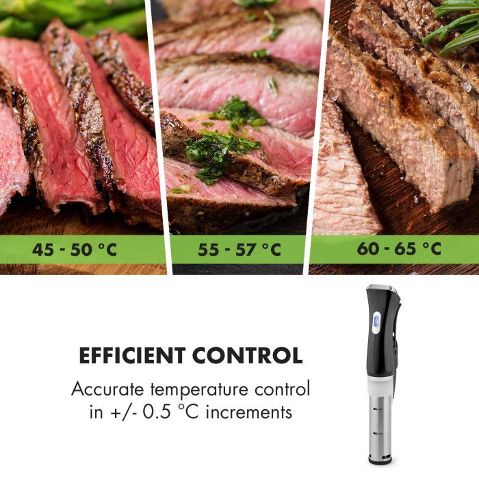 Quickstick Sous-vide Cooker Thermostat Circulation Pump 20 L Stainless Steel