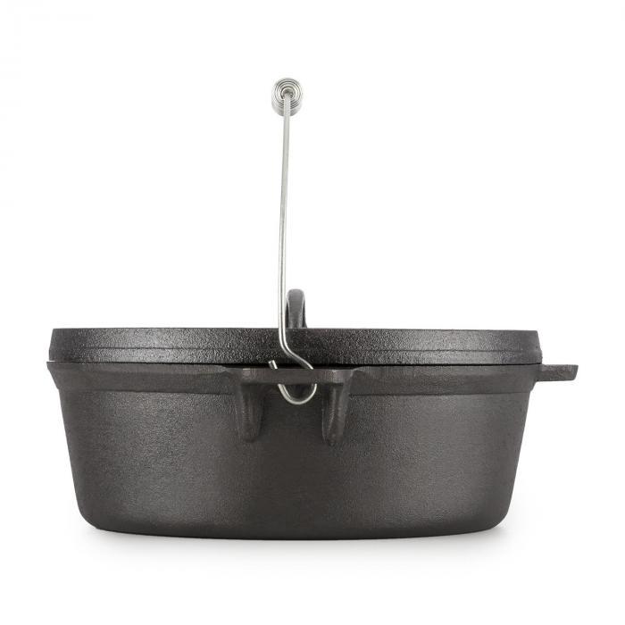 Klarstein Hotrod Quickstick M Handtag för Dutch Oven Ø 35 cm Rostfri