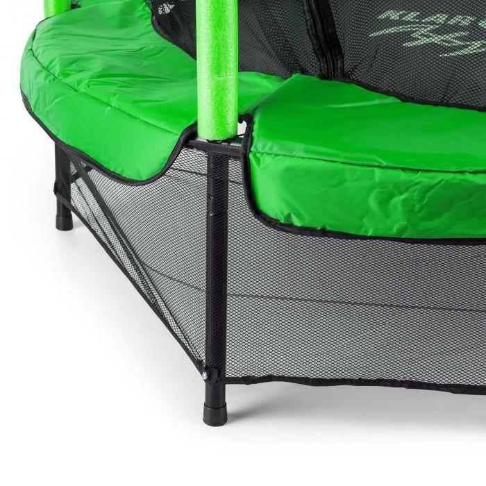 Rocketkid trampoliini 140 cm vihreä
