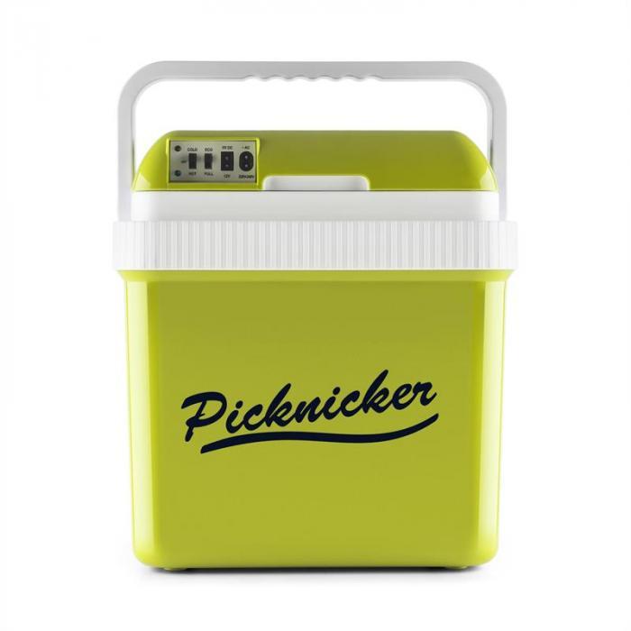 Big Picknicker Borsa Termica 24L A++ AC DC Auto verde