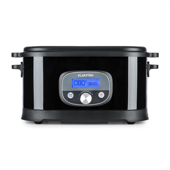 Jacuzzi Sous Vide Cottura Sottovuoto 6l 520W +/-0,5 °C LCD Acciaio Inox Nero