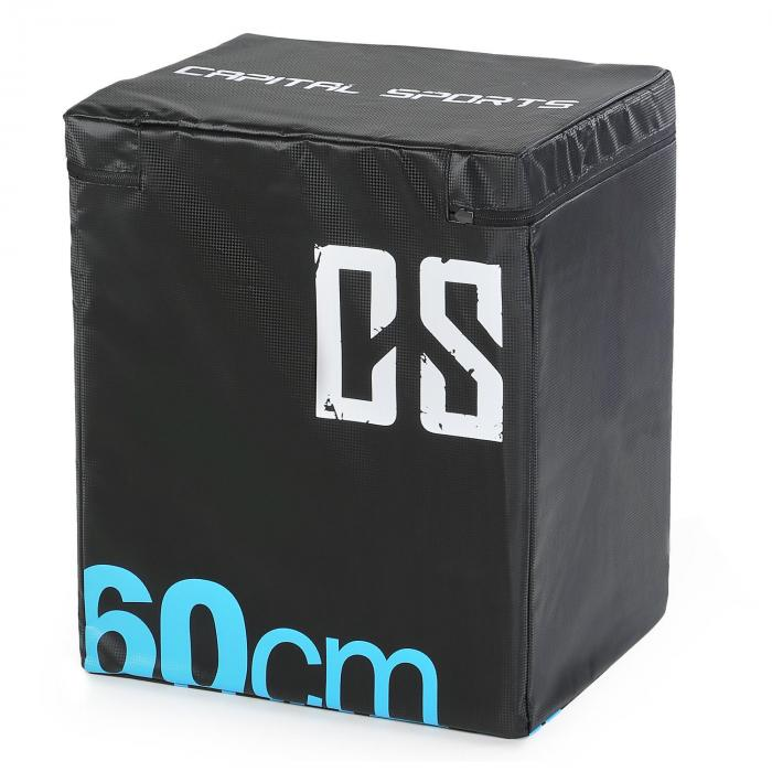 Rooksy Box Pliometrico 60x50x30 cm Nero