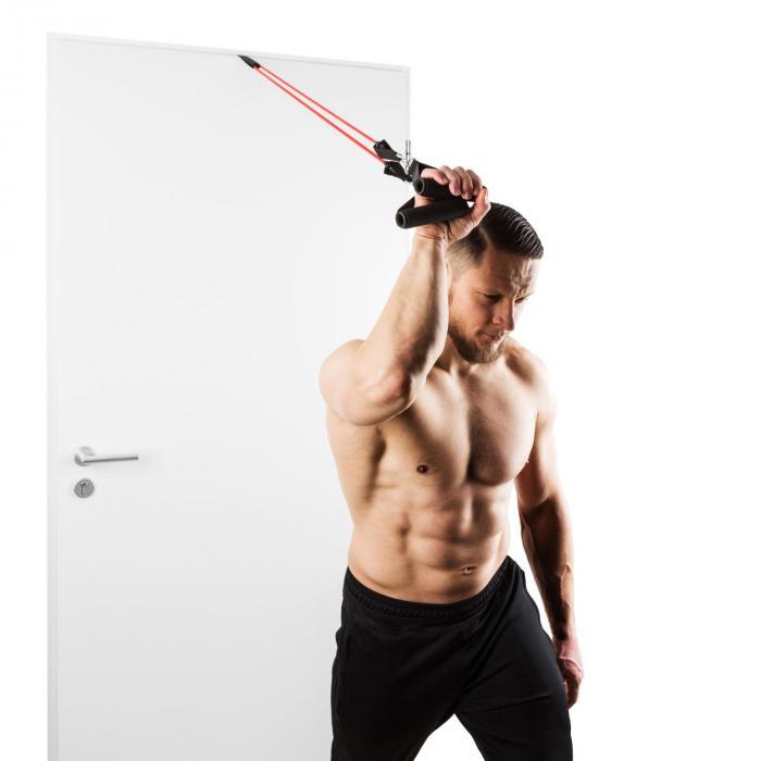 Ribbo Kit kuminauhasetti oveen kiinnitettävä treenisetti