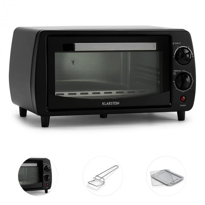 Minibreak Mini Oven 11l 800W 60min Timer 250° C Black
