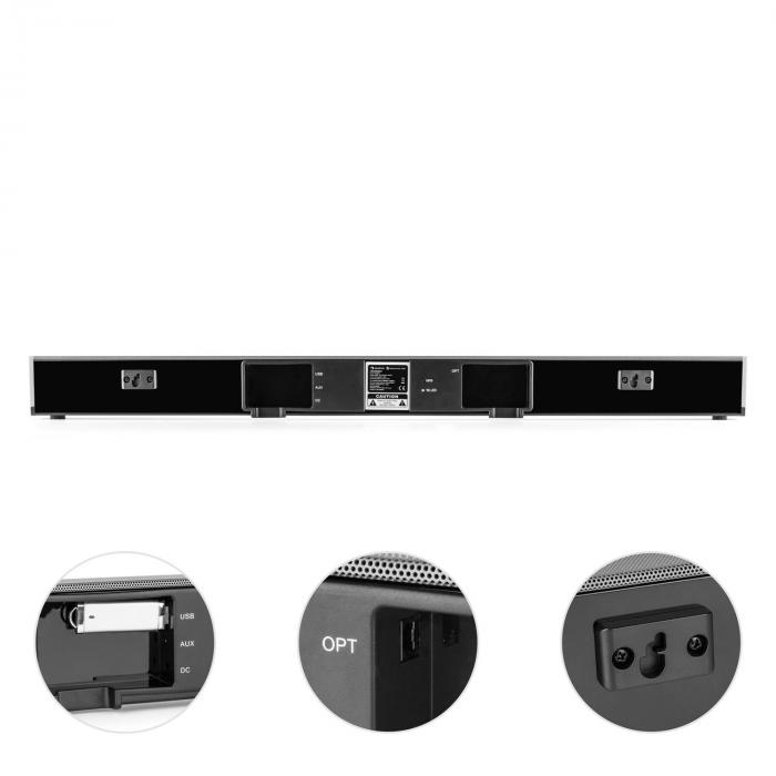 Areal Bar 950 Barra de sonido subwoofer 140W BT USB MP3 entrada digital ópt